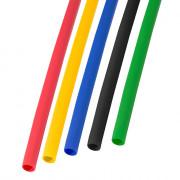 Набор термоусадочной трубки  3,5 / 1,75 мм 1м Пять цветов REXANT, компл