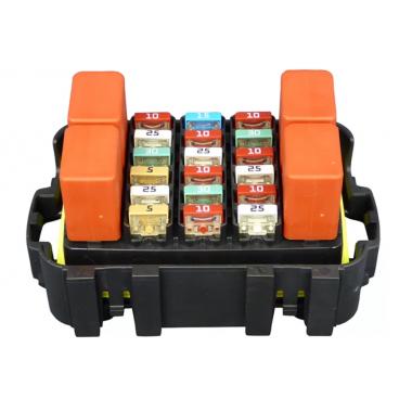 Модуль реле и предохранителей влагостойкий 18 MINIVAL + 4 MICRORELAY (в индивидуальной упаковке)