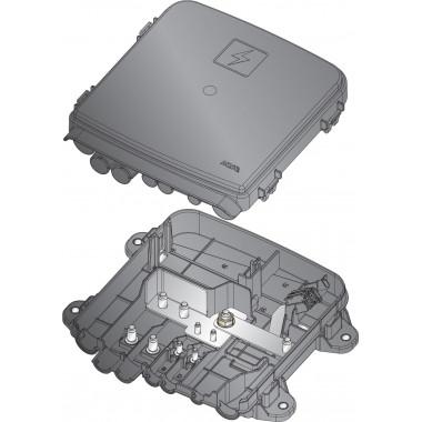Держатель предохранителей 2шт MEGA/POWERVAL и 2шт MIDIAVAL с крышкой и шиной