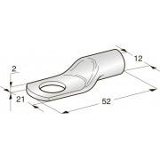Клемма неизолированная кольцевая TUBOLAR M11 Cu-Sn сечение провода 50