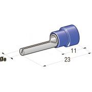 Клемма соединитель в термоусадке d=1,9 CuZn-Sn PA66 сечение провода 1-2,5