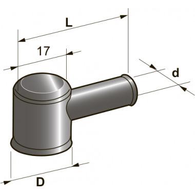 Колпачек резиновый провода генератора, шт