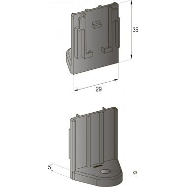 Кронштейн монтажный папа 5,5 мм, шт