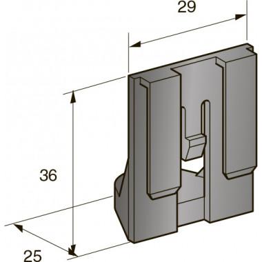 Кронштейн монтажный папа 8,5 мм, шт