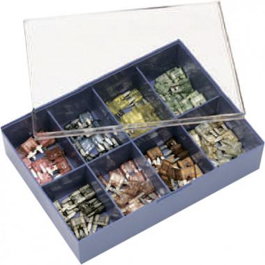 Набор предохранителей в контейнере 80 MINIVAL 2A, 3А, 4А, 5А, 7,5А, 10А, 15А, 20А, 25А, 30А