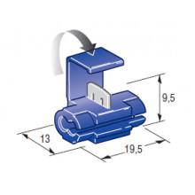 Соединитель клеммный ножевого типа (1,00-2,50 мм2)