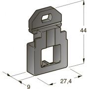 Пластина фиксирующая M5 под один винт, шт