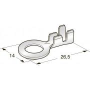 Клемма неизолированная кольцевая М6 CuZn, сечение провода 3-6, шт