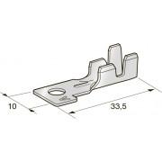 Клемма неизолированная кольцевая MIDI POL A M5 Cu-Sn сечение провода 2,5-4, шт