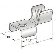 Клемма неизолированная MEGA M8х19 Cu-Sn,  сечение провода 10-20