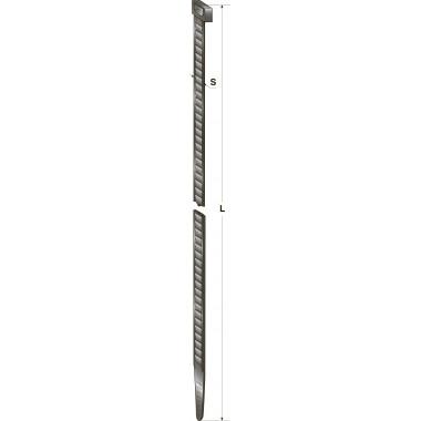 Хомут-стяжка пластиковый черный 290 х 4,8 мм d=75