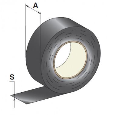 Изоляционная лента 19мм х 25м черная, шт