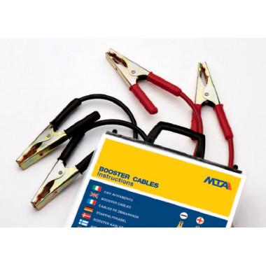 Клеммы проводов прикуривателя с проводом 400 А сечение 25 (3,5 м.) в пакете