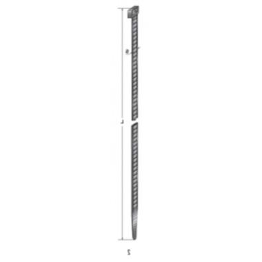 Хомут-стяжка пластиковый черный 300 х 7,8 мм d=77