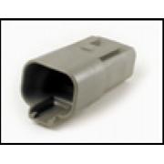 Разъем (безклемм)4-контактныйпапа