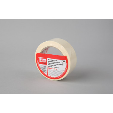 Малярная лента SPINO, белая, 60oC, 38мм x 50м  инд. упаковка