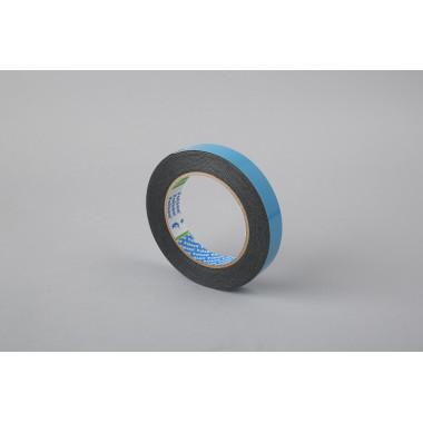 Универсальная лента для монтажа Folsen  19мм х 5м x 1,1мм, чёрная, вспененный РЕ