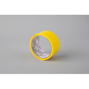 Упаковочная лента 48мм х 45м, жёлтая LUK