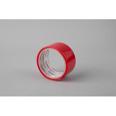 Упаковочная лента 48мм х 45м, красная LUK