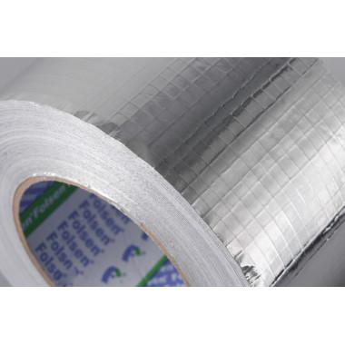 Алюминиевая лента Folsen 50мм x 100м, c PE покрытием, без лайнера