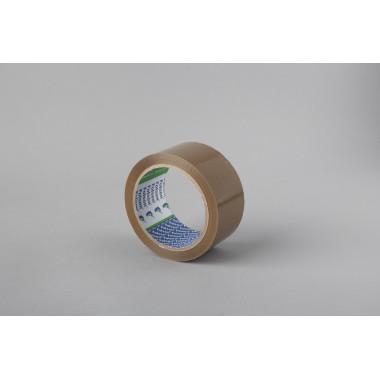 Упаковочная лента Folsen 25мм x 66м, белая, Hot-melt, PP 45мк