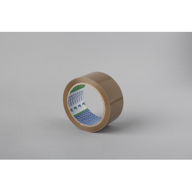 Упаковочная лента Folsen 48мм x 66м, коричневая, Hot-melt, PP 45мк
