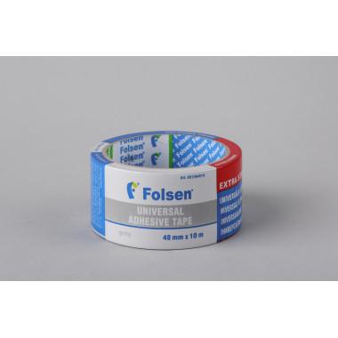 Тканевая влагоустойчивая лента Folsen, 48мм x 10м, серая