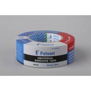 Тканевая влагоустойчивая лента Folsen, 48мм x 10м, белая