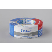Тканевая лента Folsen, влагоустойчивая 48мм х50м, черная