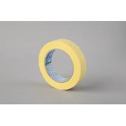 Малярная лента Folsen, желтая, 60oC, 25мм x 50м