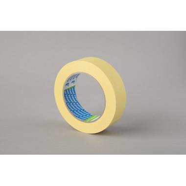 Малярная лента Folsen, желтая, 60oC, 30мм x 50м