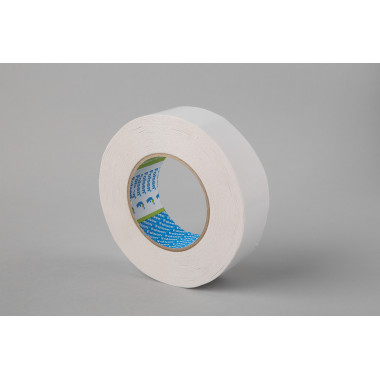 Бумажная двусторонняя лента Folsen 19 мм x 50м, (Tissue) 80оС