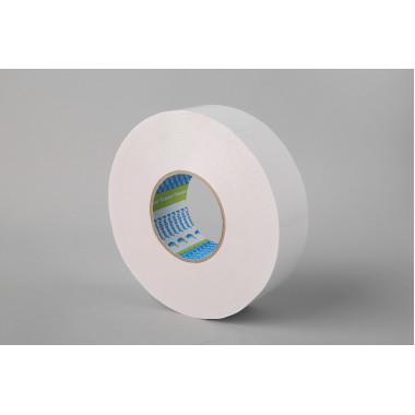 Бумажная двусторонняя лента Folsen 12 мм x 50м, (Tissue) 80оС