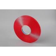 Акриловая двусторонняя лента 9мм х 33м x 0,5мм,прозрачная