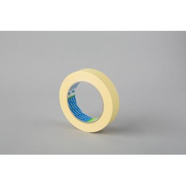Малярная лента Folsen, желтая, 80oC, 25мм x 50м