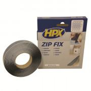Лента-застежка ZIP FIX (крючок) - черная 20mm x 5m