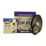 Лента-застежка ZIP FIX (крючок) - черная 20mm x 25m