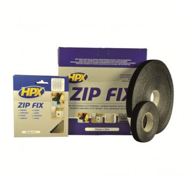 Лента-застежка ZIP FIX (петля) - черная 20mm x 25m