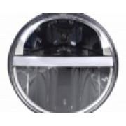 "Комплект LED фар головного света 7"" (ближний/дальний/ходовые огни/повортники)"