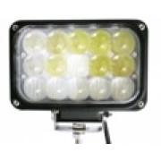 Светодиодная дополнительная фара с 4D линзами 45 ватт ближний/дальний свет