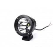 Светодиодная фара круглая 25 ватт дальний свет  LED Epistar