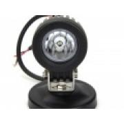Светодиодная фара рабочего света 10 Вт круглая (Spot)  LED? Cree