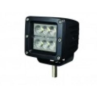 Светодиодная фара рабочего света 18 Вт 3  LED Cree
