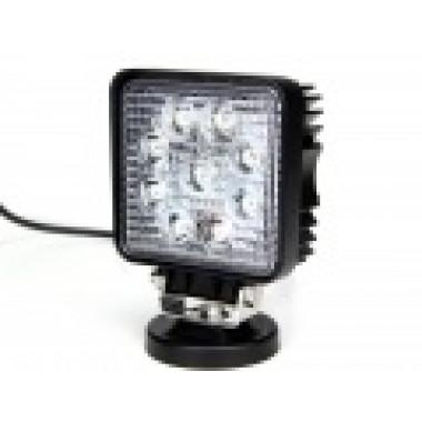 Светодиодная фара рабочего света 27 Вт квадрат LED Epistar