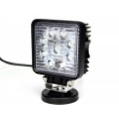 Светодиодная фара рабочего света 27 Вт квадрат spot LED Epistar