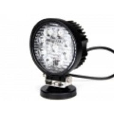 Светодиодная фара рабочего света 27 Вт круглая (Flood) LED Epistar