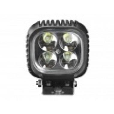 Светодиодная фара рабочего света 40 Вт квадратная (Spot) LED Cree
