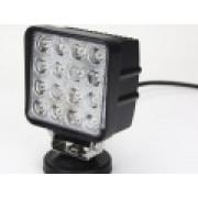 Светодиодная фара рабочего света 48 Вт квадратная LED Epistar