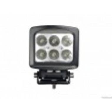 Светодиодная фара рабочего света 60 ватт квадратная дальнего света LED Cree