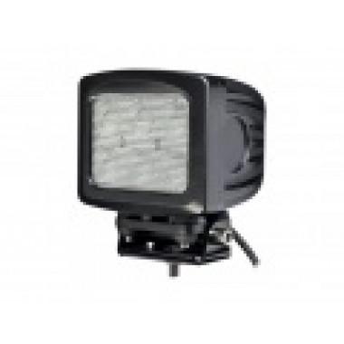 Светодиодная фара рабочего света 60 ватт квадратная LED Cree